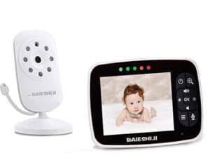 Video Baby Monitor 3.5 Large LCD